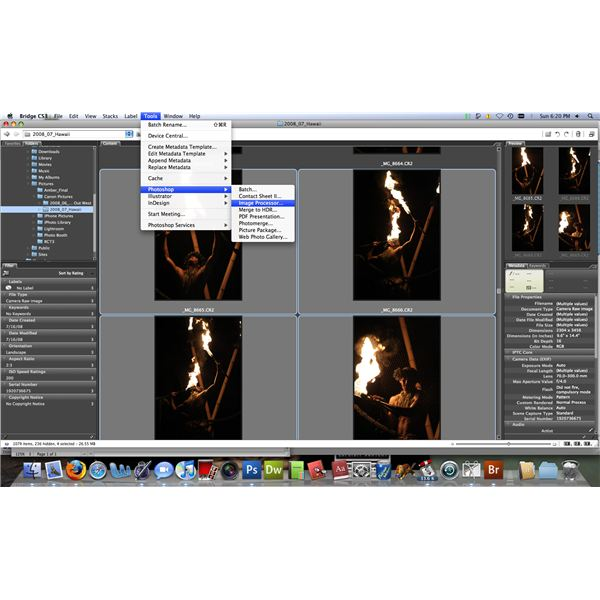 convert cr2 file to jpeg in photoshop