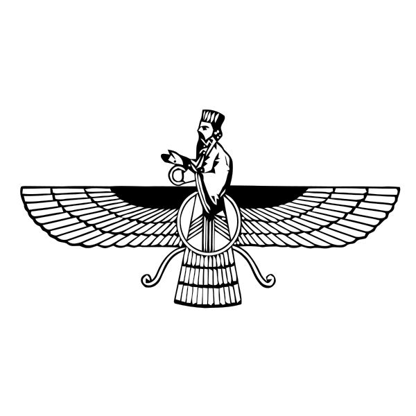 Faravahar, a guardian spirit
