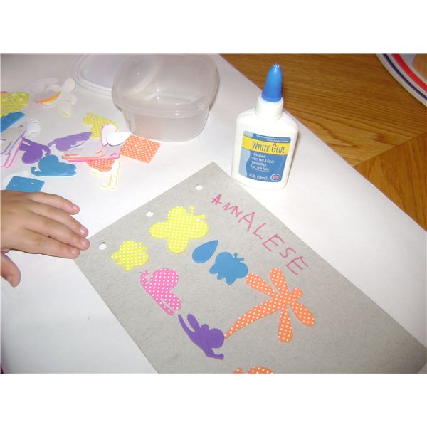Preschool Tactile Letters Activities:  Create Tactile Books for Sensory