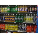Soft drink shelf