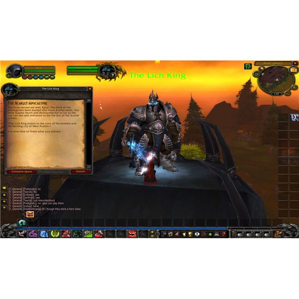 WoWHead's Review of the New Class - Death Knight
