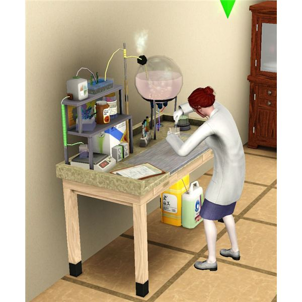 The Sims 3 chemistry set