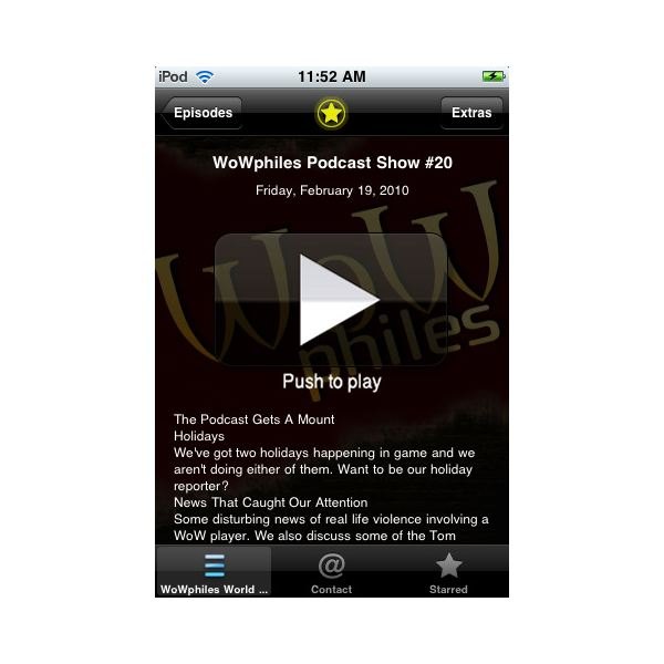 Find WoW Apps for the iPhone: Calling All World of Warcraft Fans!