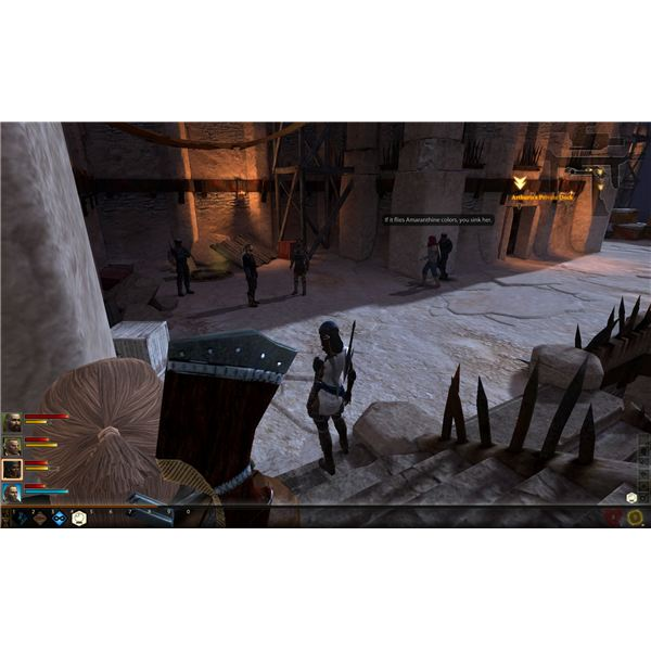 Dragon Age 2 Walkthrough - Secret Rendezvous - Pictured: Incredible Stealth