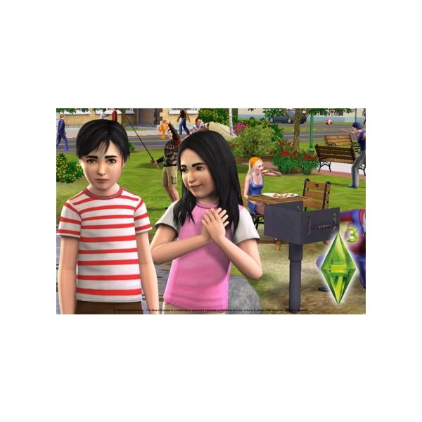 Sunset Valley Sims 3 Family: The Goths