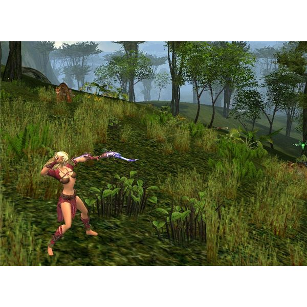 Guild Wars Ranger Attacking