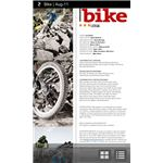 Zinio for Android Magazine Page