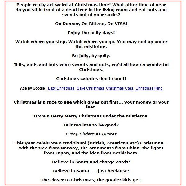 Versus 4 Cards Christmas Phrases