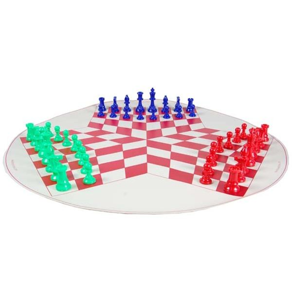 Does three player chess tickle your fancy?