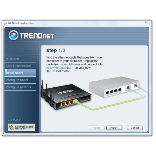 Install Router Connections