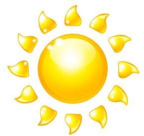 Sun from Microsoft Clipart
