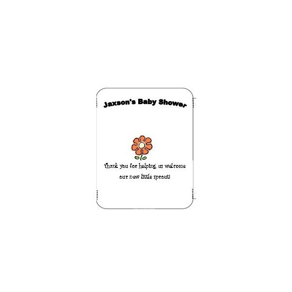 Baby Shower Seed Packet