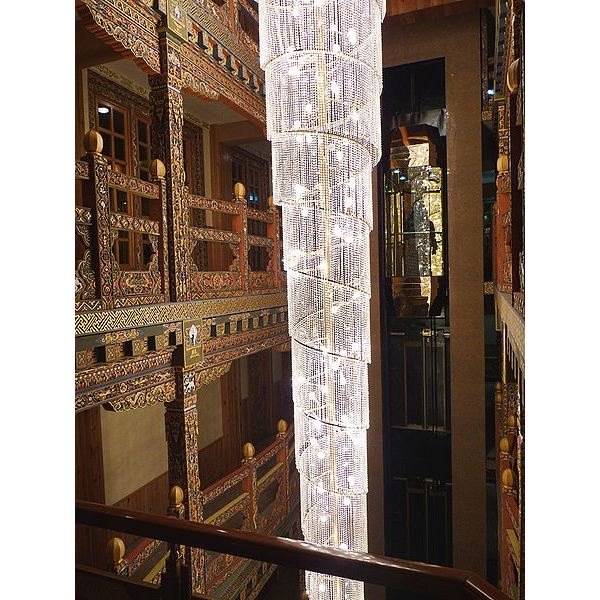 450px-Hotel interior (Thimphu) -Blend of Traditional and Modern