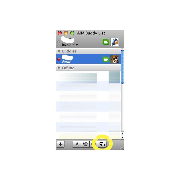 Screen Sharing in iChat