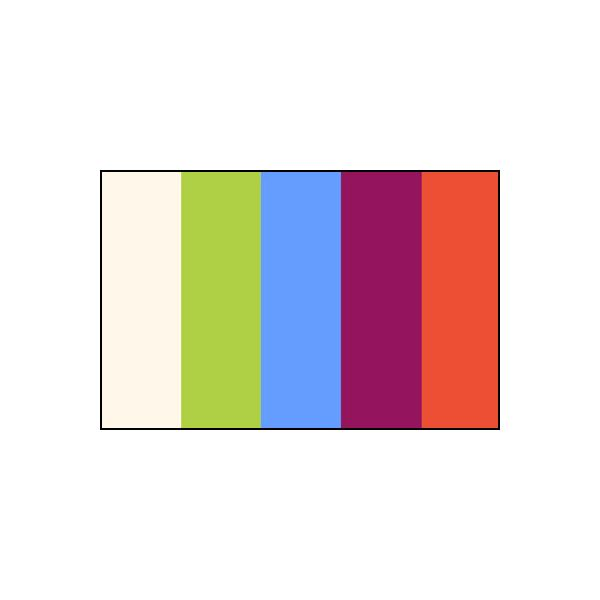 Bright Color Scheme with White to Balance