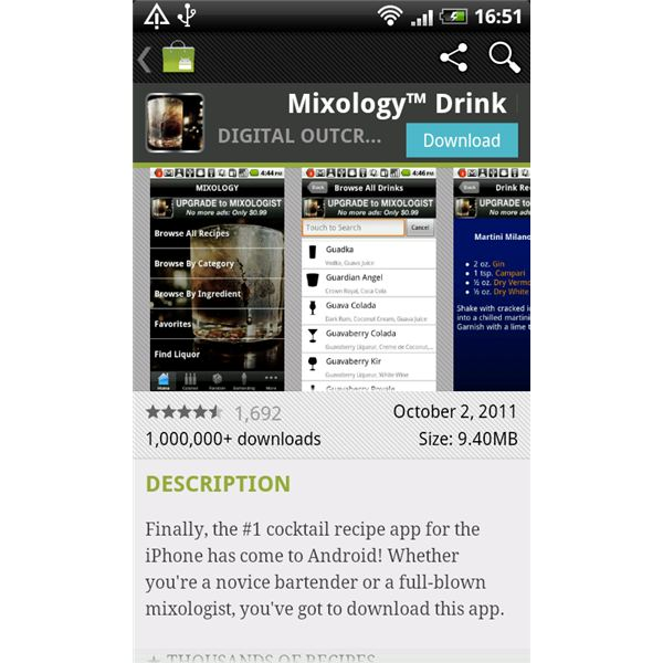 The Best Android Cocktail Apps