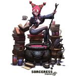 The Sorceress isn't all about books