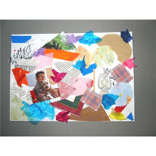 Tips Ideas On Making Collages With Preschoolers