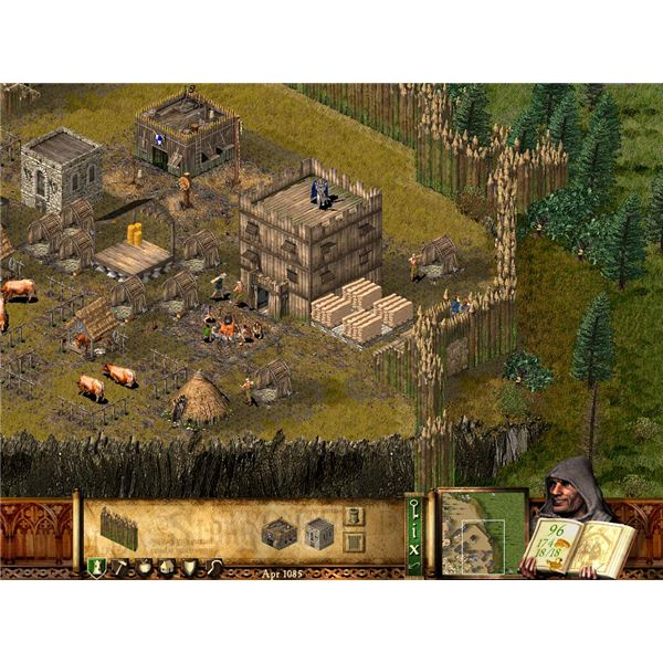 Stronghold PC Game Review: Review Of Castle Sim Game Stronghold by Firefly - Castle Simulator Game