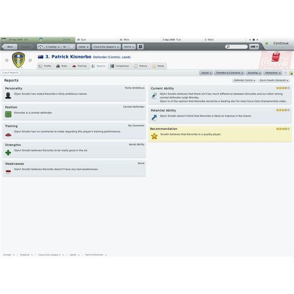 What Is The Assistant Manager For In Football Manager 2010?