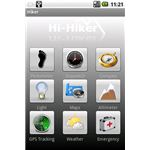 Hi Hiker Pro Home Screen