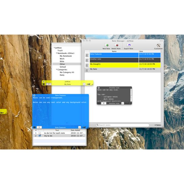 Remind Yourself With Mac Sticky Notes Apps