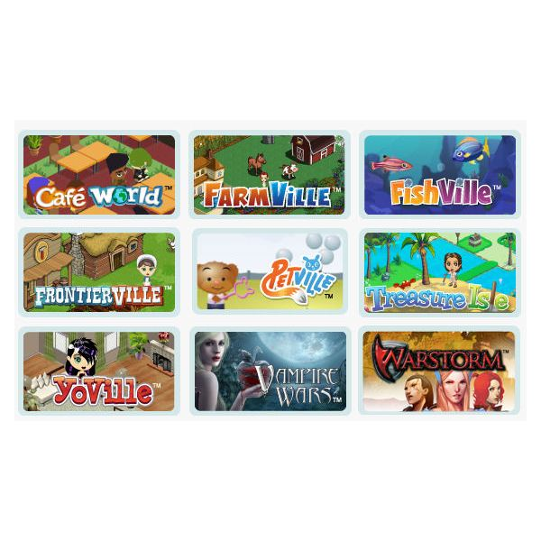 All Zynga Games