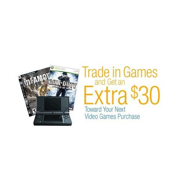 Game Trade In Promotions Like This Can Make You Bonus Cash