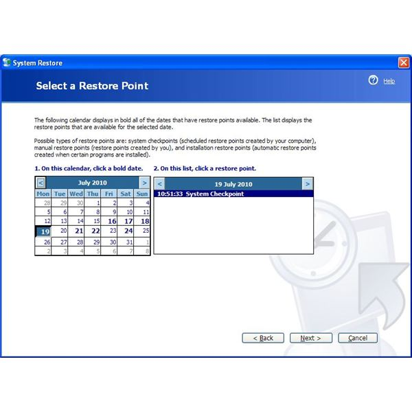 Use System Restore to overcome the