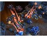 Starcraft 2 Battlecruisers Attacking