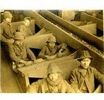 Breaker boys, Eagle Hill colliery, eastern PA 1