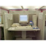 CFW Information Services call center workstation