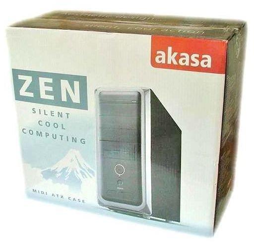 Akasa Zen Packaged Box