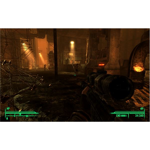 Fallout 3: The Pitt - The Ammo Press in All of Its Glory