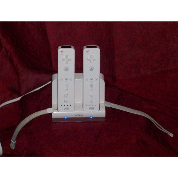 Review of the NYKO Wii Remote Charge Station Wii Accessory