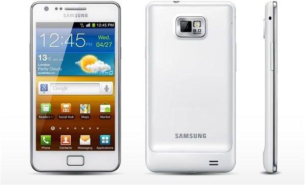Samsung Galaxy S II White