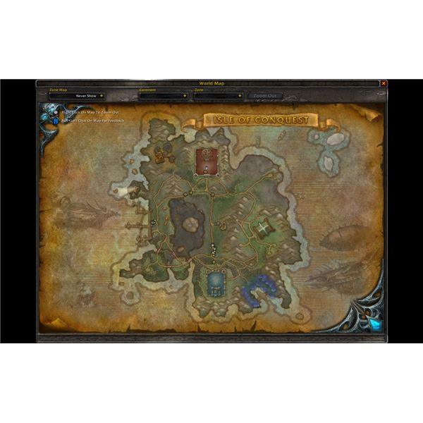 The Isle of Conquest Map - Patch 3.2