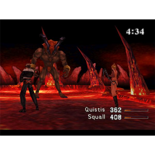 FF8 Walkthrough - Ifrit Boss Battle
