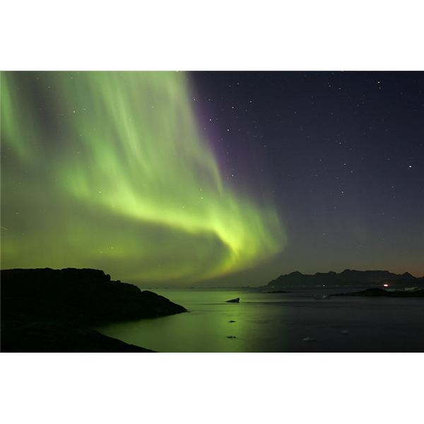 Northen Lights (Aurora Borealis) by nick russill