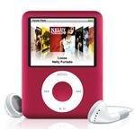 apple ipod nano red