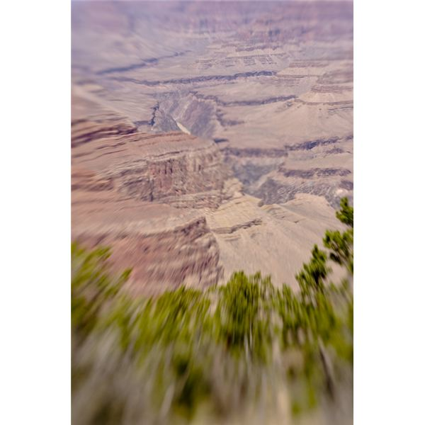Grand Canyon shot with a Lensbaby Composer.