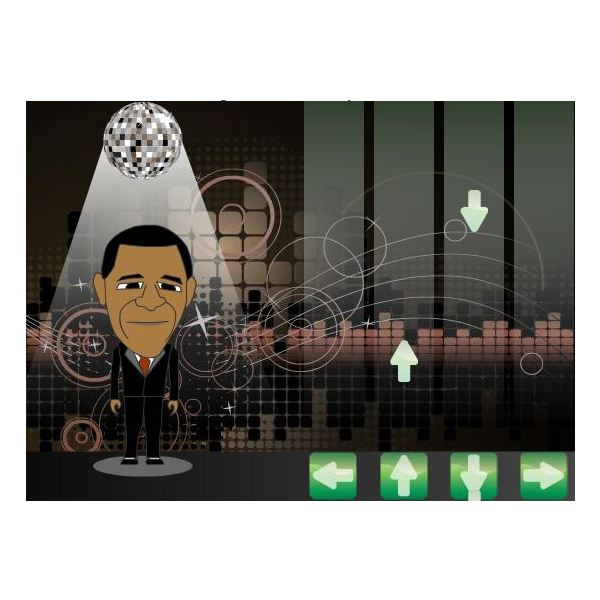 Dance with Obama Game