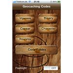 Geocaching Codes iPhone App