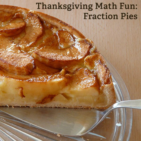Fraction Pies: Great Idea for a Thanksgiving Math Lesson
