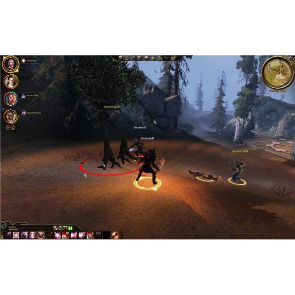 Dragon Age: Awakening Guide - Ancient Sylvans - From the Living Wood