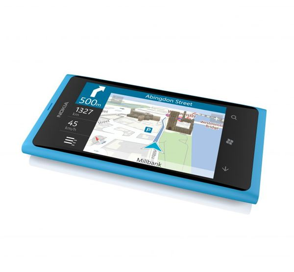 Nokia Lumia 800 Maps