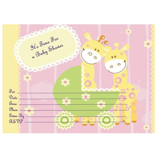 Where to find free printable baby shower invitations giraffe baby shower invite best when filmwisefo