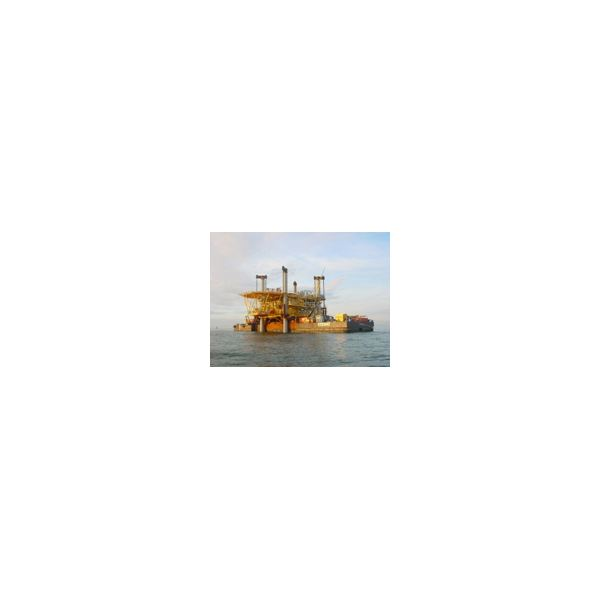 Self-Installing Offshore Oil or Gas Rigs