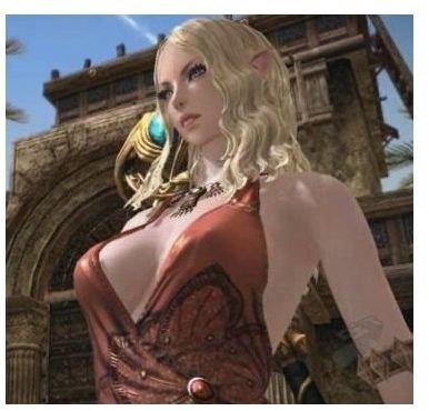 Apparently Elves have super-models, too
