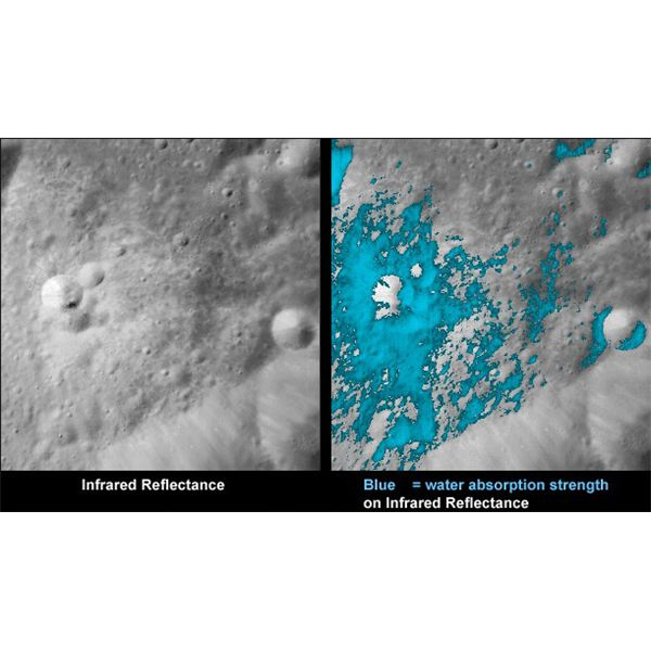 Water Discovered on the Moon - Photos Sent by Chandrayaan-1